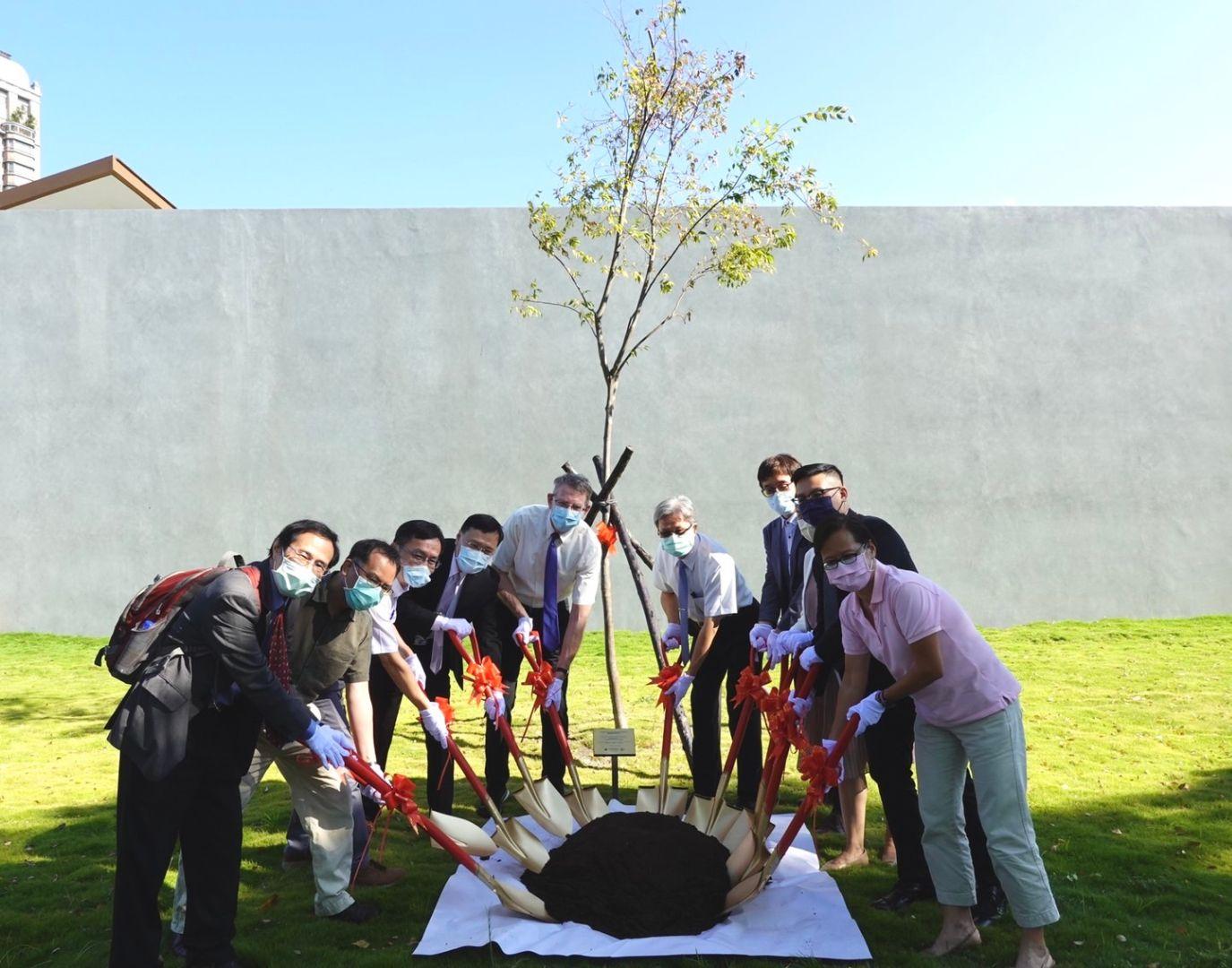 FSE and NTPU tree planting 1
