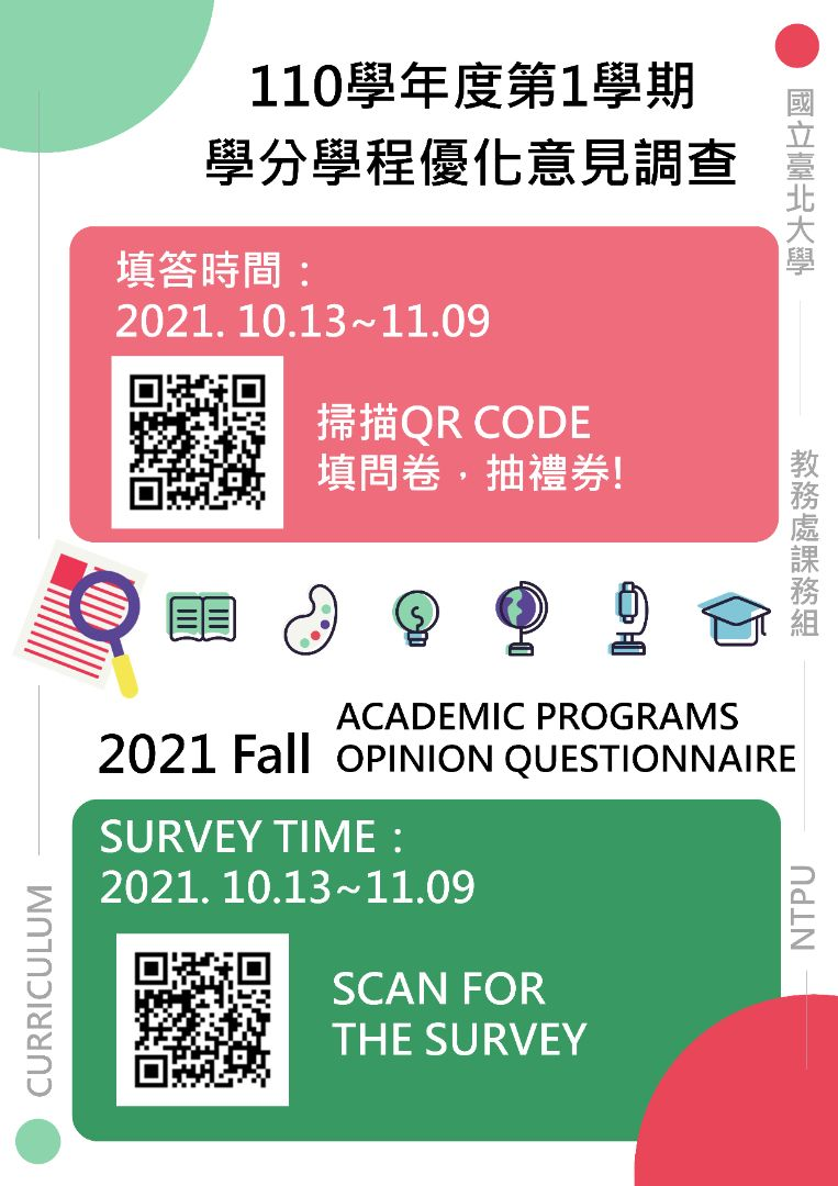 (2021 Fall)Academic Programs opinion questionnaire