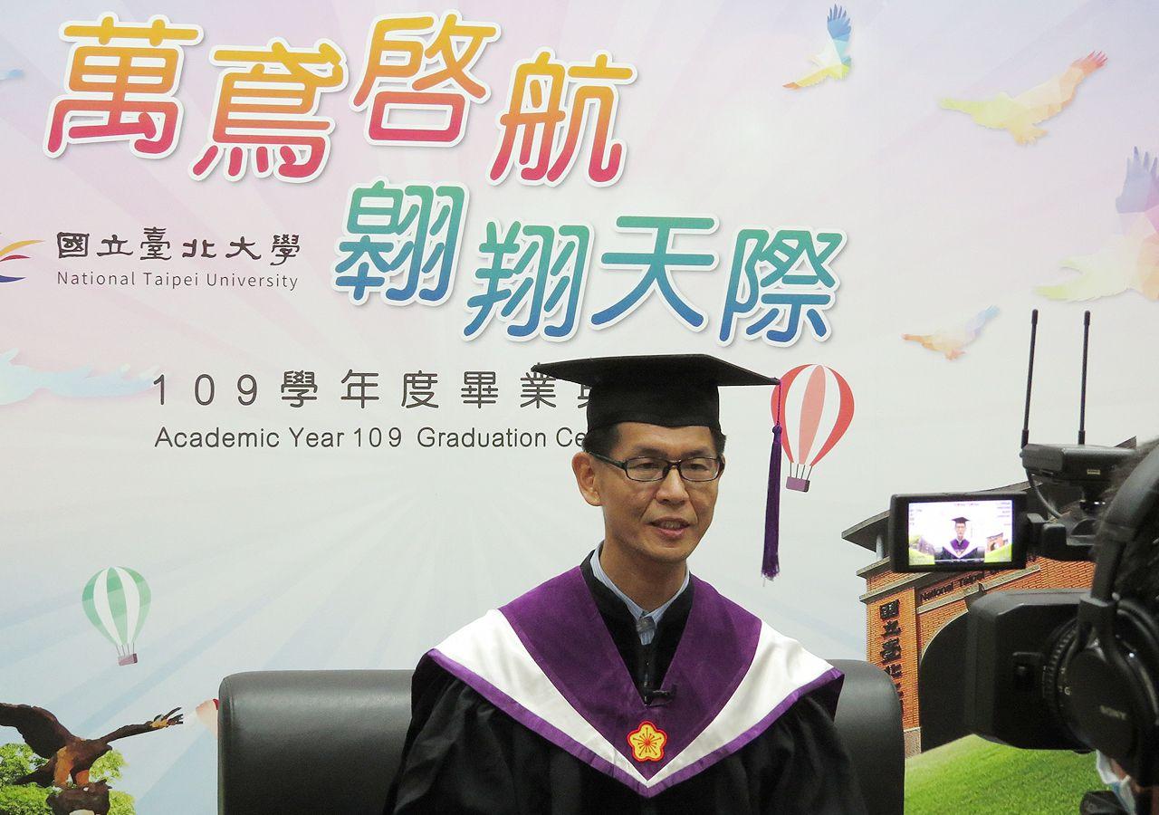 Dean of College of Public Affairs Peng Chien-wen