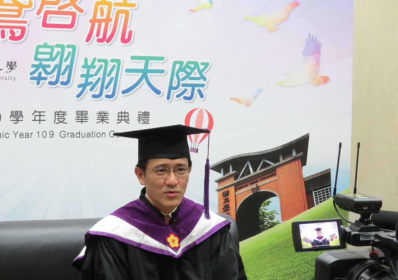 Dean of College of Social Sciences Chen Chin-shyan