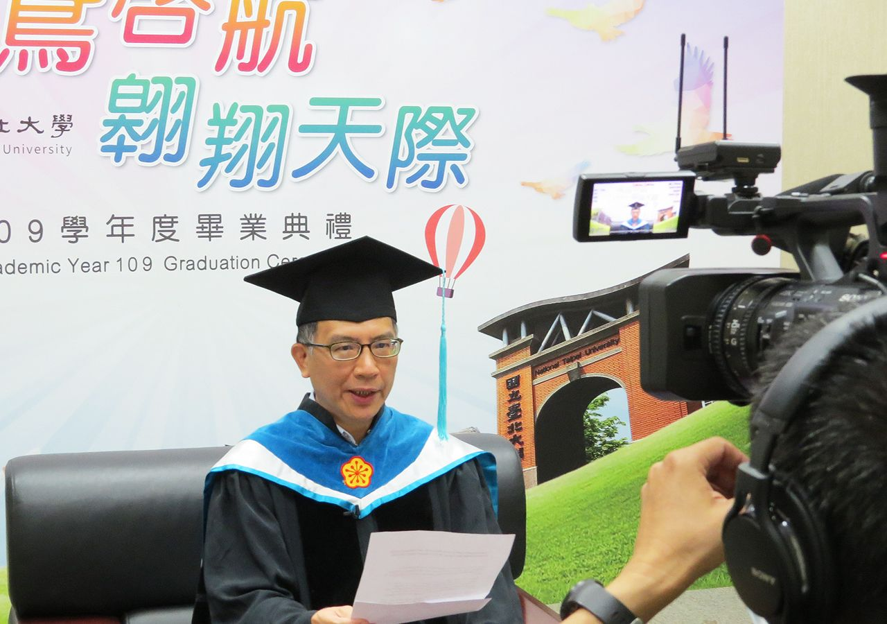 Dean of International College of Sustainability Innovations Chang Wen-chun